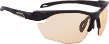 Alpina Twist Five HR VL+ Cykelbriller, black matt-orange 2020 Briller