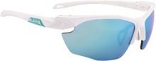 Alpina Twist Five HR CM+ Cykelbriller, white matt-emerald 2019 Briller