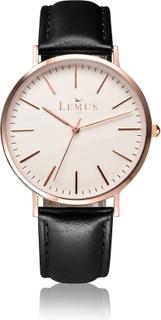 Armbåndsur - Lemus Classic Herreur (Sort)