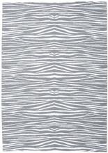 Zebra - Grå matta 200x280 Modern Matta