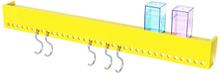 Nomess So-hooked knaggrekke - Gul - 90 cm