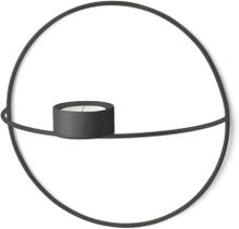 Menu POV Circle vegglysestake - Telys - sort - liten