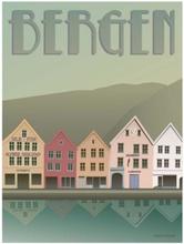 ViSSEVASSE plakat BERGEN Bryggen