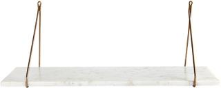 House Doctor marmor hylle - hvit
