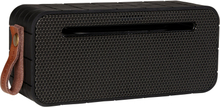 Kreafunk aMove højtaler med powerbank i black edition med Gun metal front