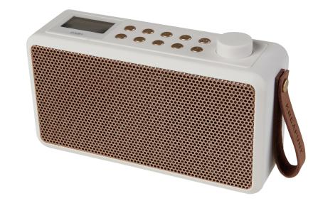 Kreafunk tRadio DAB+ Radio - Hvid