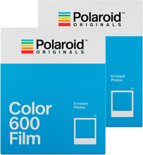 Polaroid Originals Color Film For 600 White Frame 2-Pack , Polaroid Originals