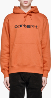 Carhartt - Hooded Carhartt Sweatshirt - Orange - S