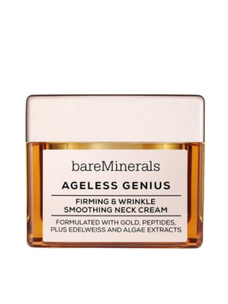 bareMinerals Ageless Genius Firming & Wrinkle Smoothing Neck Cream Transparent