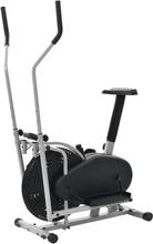 vidaXL Orbitrac Crosstrainer 2-in-1 bältmotstånd 50 cm