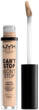 NYX Professional Makeup Can't Stop Won't Stop Concealer Vanilla