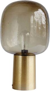 House Doctor - Note bordlampe i guld og grå glas