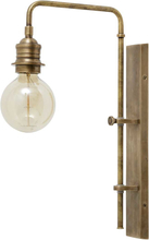 Nordal væglampe i messing - 48 cm høj