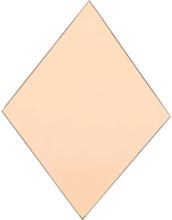 House Doctor Diamond spejl i rosa - sæt med 4 stk