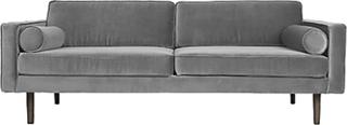 Broste Copenhagen Wind 3 pers. sofa - Drizzle grå