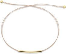 JUKSEREI - Lykkearmbånd Pipe - Oliven