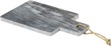 Broste Copenhagen Adam skærebræt i grå marmor - 17 cm