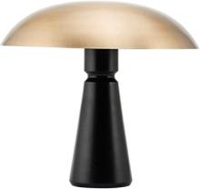 House Doctor Thane bordlampe i sort/messing - 43 cm