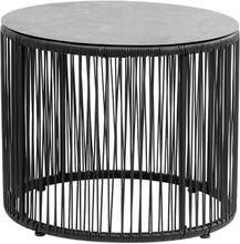 Nordal Gardy bord sort - Ø55 cm