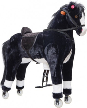 PACO STOR XXL 90 cm Hest med kan ride MED HJUL by Pink Papaya
