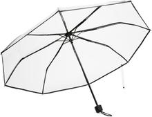 A-TO-B genomskinligt paraply, Svart
