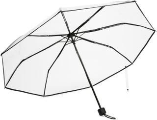 A-TO-B gjennomsiktig paraply, Svart