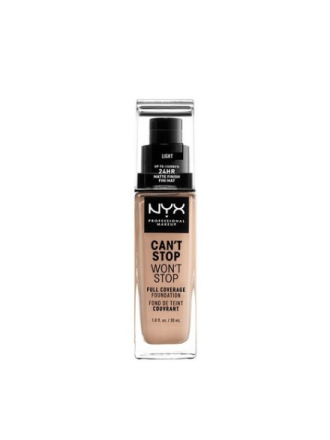 NYX Professional Makeup Can't Stop Won't Stop Foundation Light