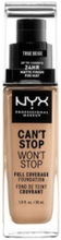 NYX Professional Makeup Can't Stop Won't Stop Foundation True Beige