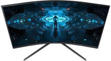 """32"""" Skærm Odyssey G7 C32G74TQSU - Sort - 1 ms AMD FreeSync Premium"""