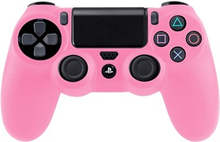 Silikone Beskyttelse til PS4 (Pink)