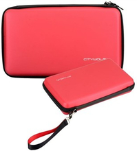 Opbevarings Taske - Wii U Gamepad (Rød)