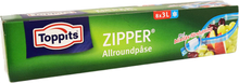 Allroundpåsar Zipper 8-pack - 16% rabatt
