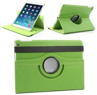 Danmarks Billigste 360º Roterende Etui til iPad Air 2 - Grøn