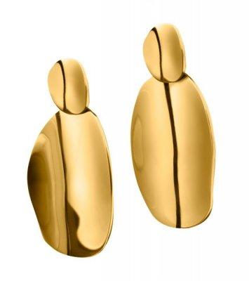 Edblad Pebble Earrings Gold