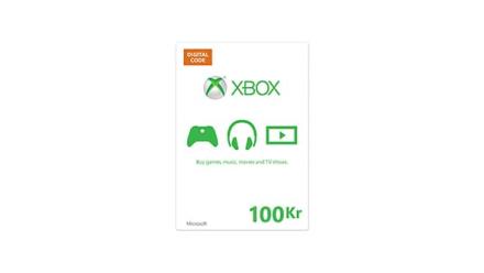Xbox-gavekort Digital kode (100 NOK)
