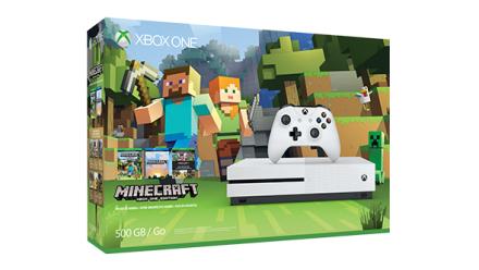 Xbox One S Minecraft Favorites-pakke (500 GB)
