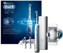 Oral-B Genius 8000 White. 10 stk. på lager