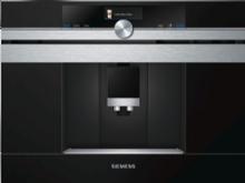 Siemens CT636LES1 - Automatisk kaffemaskine - til indbygning - 19 bar - rustfrit stål