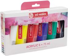 Akrylfärger Art Creation Färgset 75 ml - 6 färger