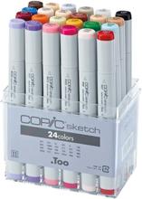 Copic Sketch set - 24 pennor - Basic