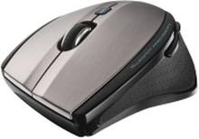 Trust MaxTrack Wireless Mini - Mus - 6 knapper - trådløs - 2.4 GHz - trådløs modtager (USB)
