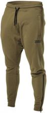 Better Bodies Harlem Zip Pants Military Green - Treningsbukse