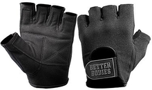 Better Bodies Basic Gym Gloves Black - Treningshansker