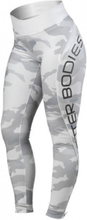 Better Bodies Camo High Tights - Dark Green Camo