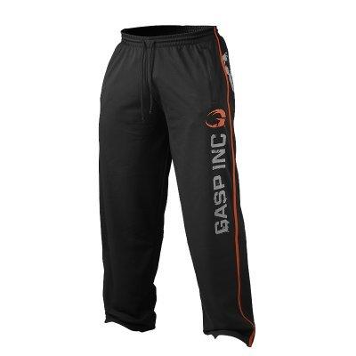 Gasp No. 89 Mesh Pant Black - Treningsbukse