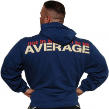 "Brachial Hoody ""Not Average"" Navy - Hettegenser"