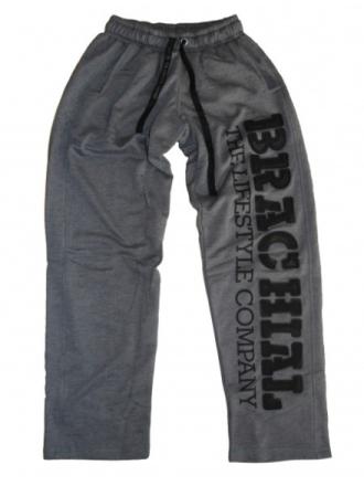 "Brachial Pants ""Gym"" Dark Greymelange / Black - Treningsbukse"
