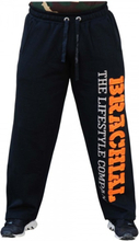 "Brachial Pants ""Gym"" Black / Orange - Treningsbukse"