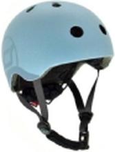 Scoot & Ride Kask S-M Steel