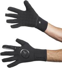 assos rainGloves_evo7 black volkanga S 2020 Handskar långa
